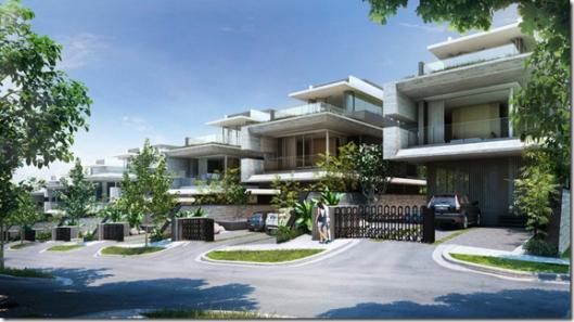 Michaels' Residences landed houses near Cashew MRT station