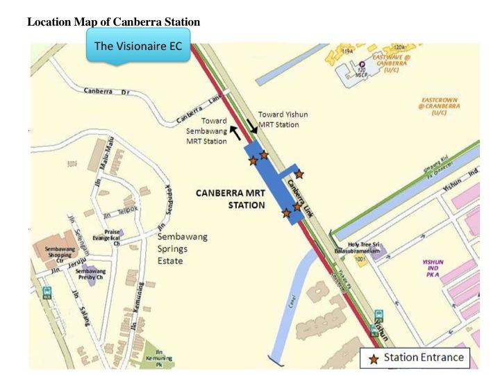 Visionaire EC, Visionaire EC, Visionaire EC near MRT station