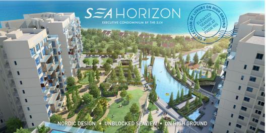 Sea Horizon EC with view of Pasir Ris Sea