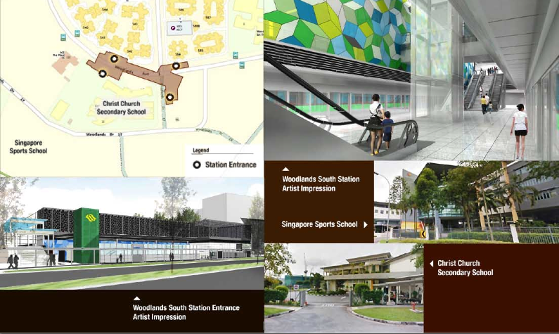 Forestville EC to TOP in 2016 connected with Woodlands South MRT station TEL