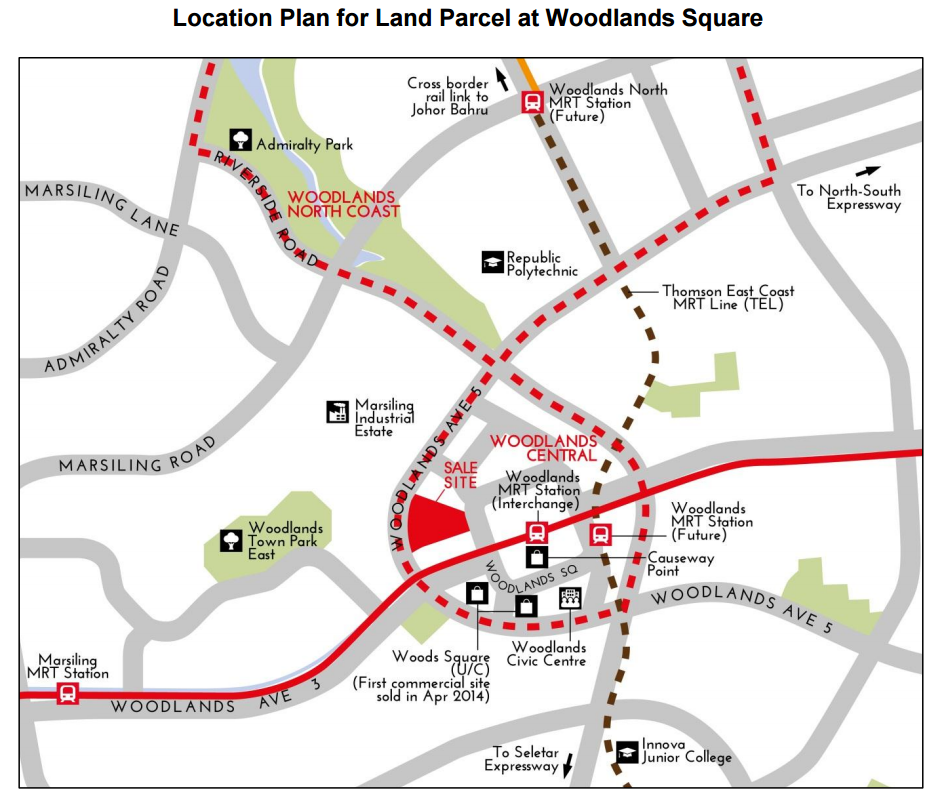 Woodlands regional centre have Woodlands central and woodlands north coast with 100,000 new jobs