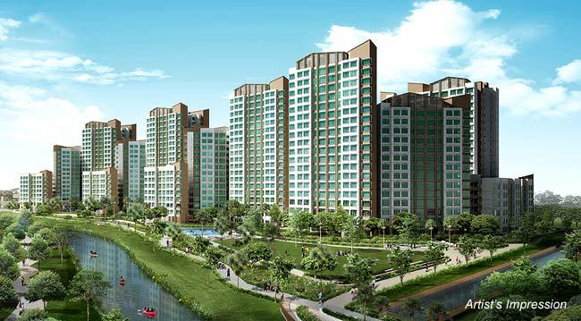 Terrace EC in Punggol, Terrace EC with no resale levy, Terrace EC T.O.P. soon