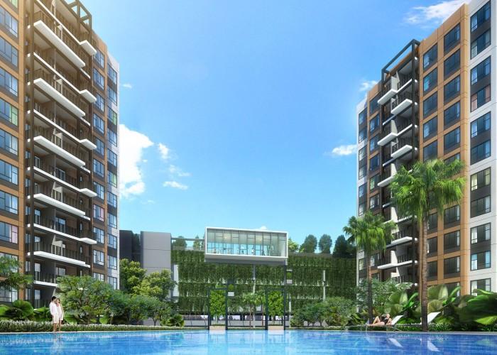 new Executive Condominium with MRT station at doorstep