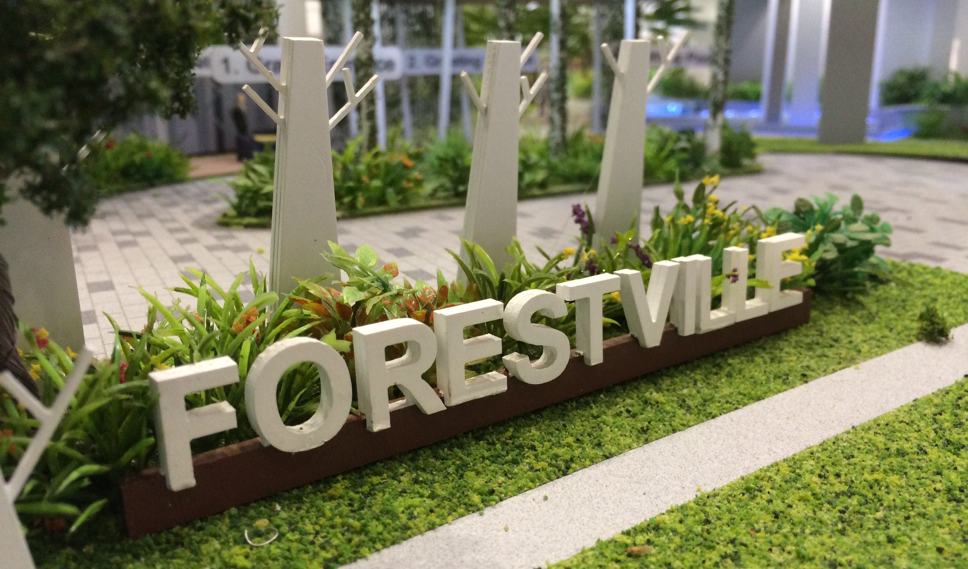 new ec in woodlands near MRT station; Woodlands EC to T.O.P. in 2016, Forestville EC in Woodlands Drive 16