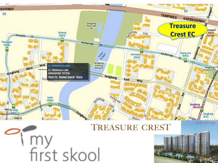 Treasure Crest sale chart and available unit, Treasure Crest price discount, Treasure Crest near Sengkang MRT station