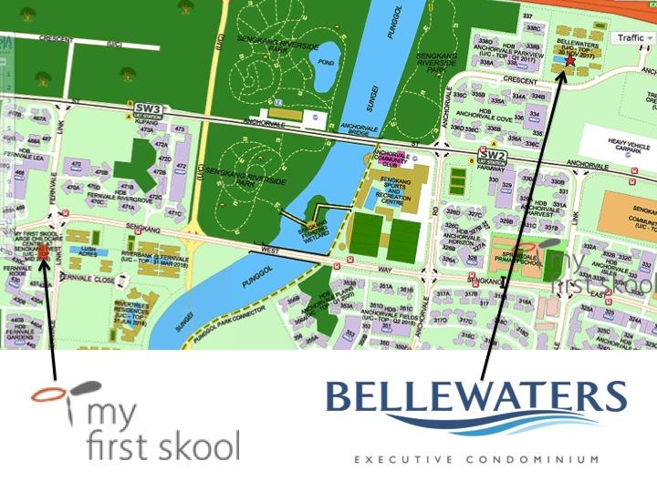 Bellewaters EC in Sengkang Anchorvale Crescent, Bellewaters EC no hdb resale levy impose on 2nd timer, Bellewaters EC TOP soon