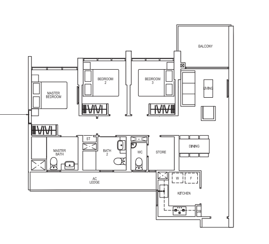 Parc Riviera condo, Parc Riviera located in West Coast, Parc Riviera Price discount