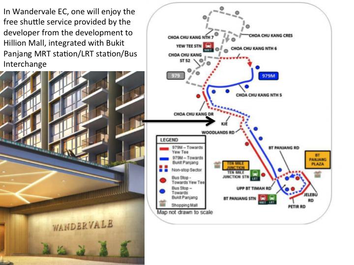 Wandervale EC in Choa Chu Kang, Wandervale EC near MRT station, Wandervale EC price discount