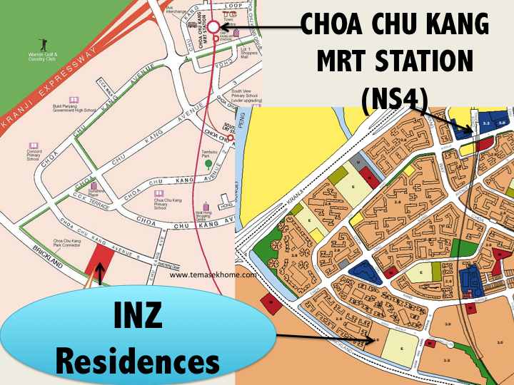 INZ Residences EC, INZ Residences EC located in Choa Chu Kang Ave 5 (CCK), INZ Residences EC cheapest EC