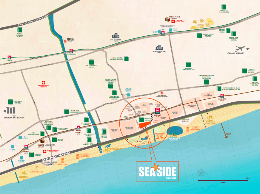 Seaside Residences Price Discount, Seaside Residences Units available for sale, East Coast new condominium for sale