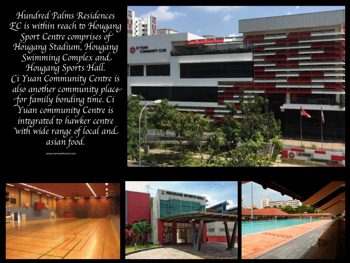 Hundred Palms Residences EC, Hundred Palms EC in Yio Chu Kang road / Hougang, EC near Rosyth Primary School