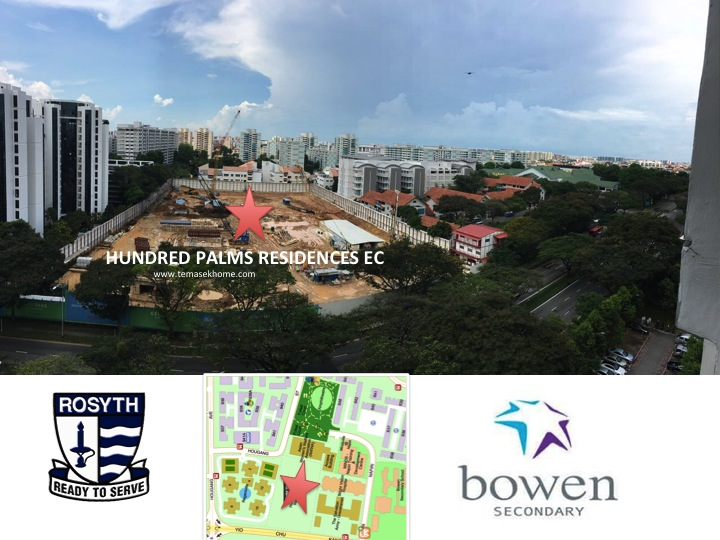 Hundred Palms Residences EC, Hundred Palms EC in Yio Chu Kang road, EC near Rosyth Primary School