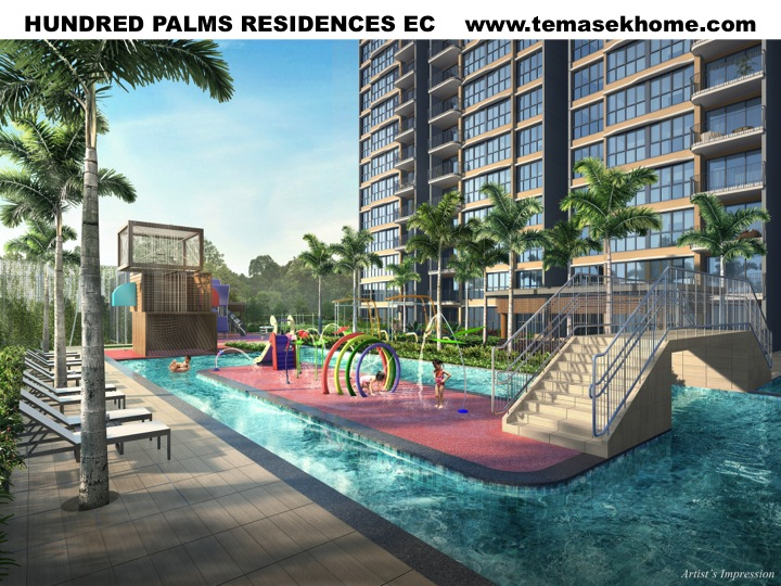 Hundred Palms Residences EC, EC in Yio Chu Kang road, EC near Rosyth Primary School