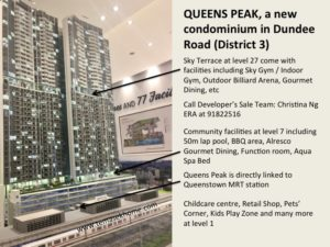 Queens Peak, Queens Peak Condominium, Queens Peaks Queenstown MRT station