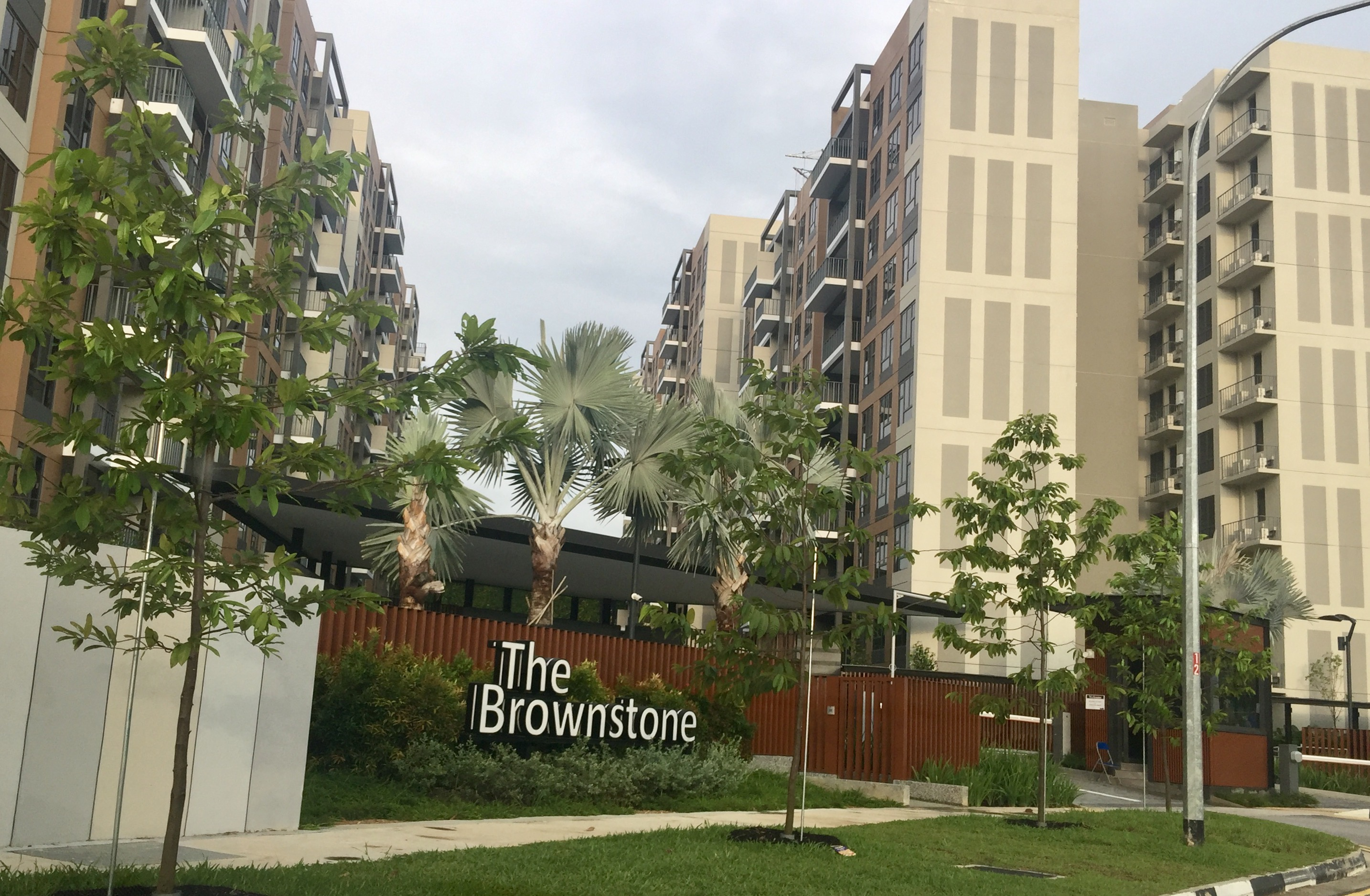 Brownstone EC (executive condominium) in Semabwang, Brownstone EC T.O.P. 2018, Brownstone EC near MRT station