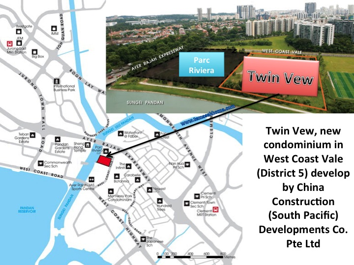Twin Vew new condominium in West Coast, Twin View Showflat, Twin Vew condo near West Coast MRT station
