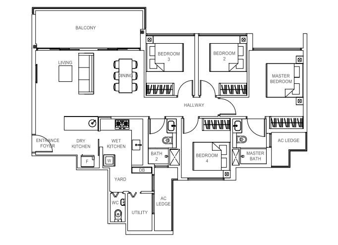 Rivercove EC in Sengkang, Rivercove EC floor plan, New executive condominium (EC) in Sengkang