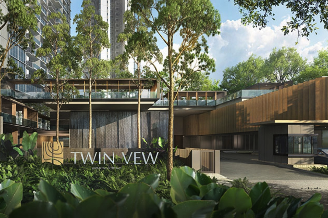 Twin View new condominium in West Coast