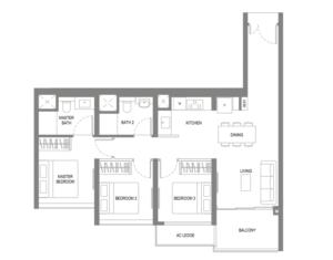 Twin View new condominium in West Coast