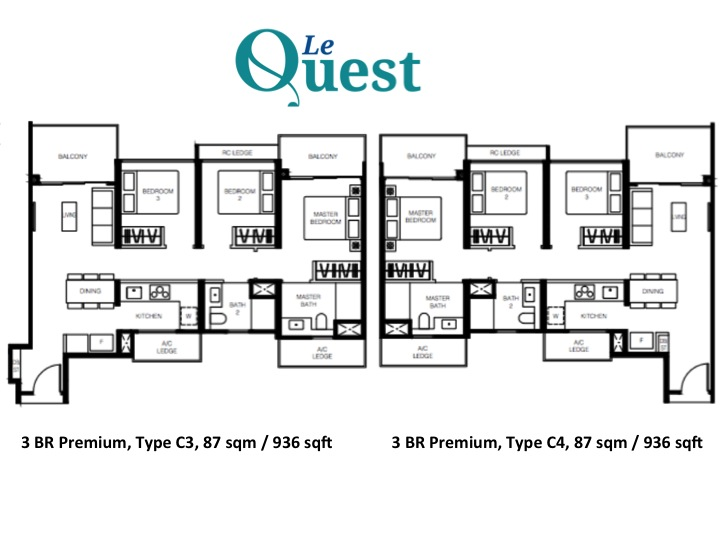 Le Quest condo, Le Quest in Bukit Batok West, Le Quest Bukit Batok West MRT station via Jurong Region Line
