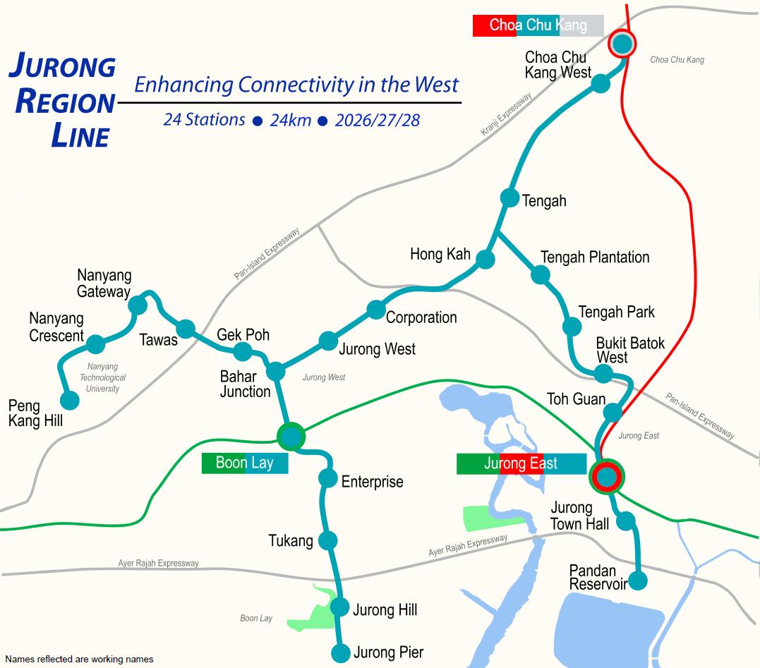 Le Quest condo, Le Quest in Bukit Batok West, Le Quest Bukit Batok West MRT station via Jurong Region Line