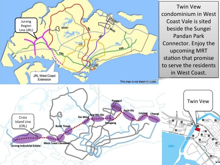 Twin Vew new condominium in West Coast, Twin View Showflat, Twin Vew condo near West Coast MRT station