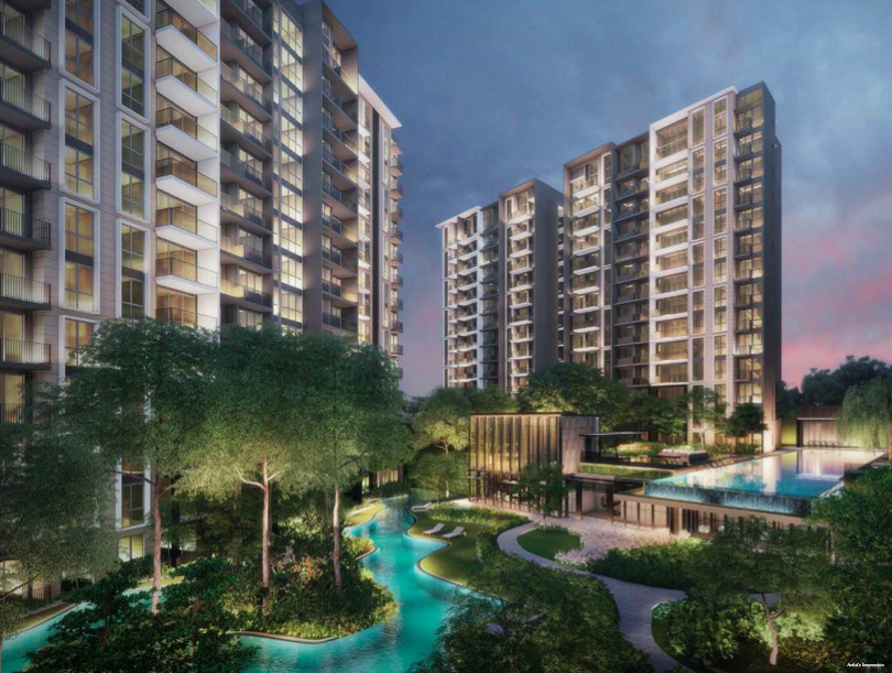 Park Colonial at Woodleigh MRT station, new condominium at Woodleigh MRT station, new condo near Stamford American International School