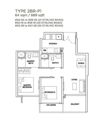 Stirling Residences condo, Stirling Residences in queenstown, Stirling condo near Queenstown MRT station