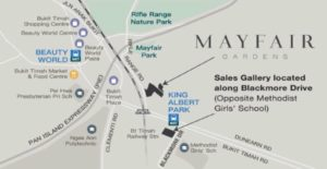 Mayfair Gardens condo in Bukit Timah, Mayfair Gardens near King Albert Park MRT station, Mayfair Gardens condo Price