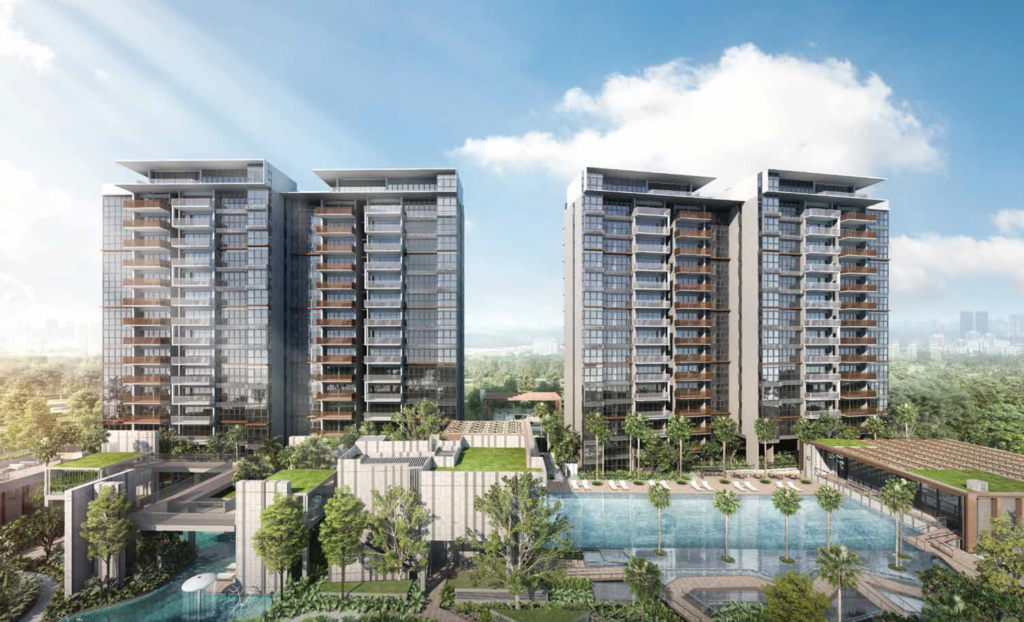 OLA EC, Sengkang executive condominium EC OLA, EC within 1km to Nan Chiau Primary School at Cheng Lim LRT station and near Punggol Digital District