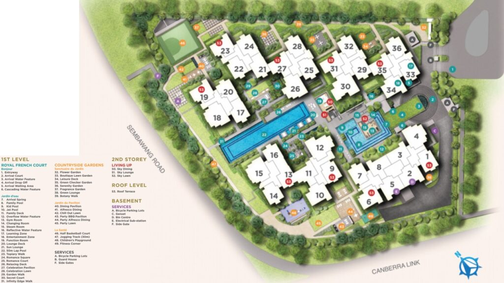 Provence EC in Canberra (Sembawang), EC near MRT station, cheapest EC (executive condominium) price